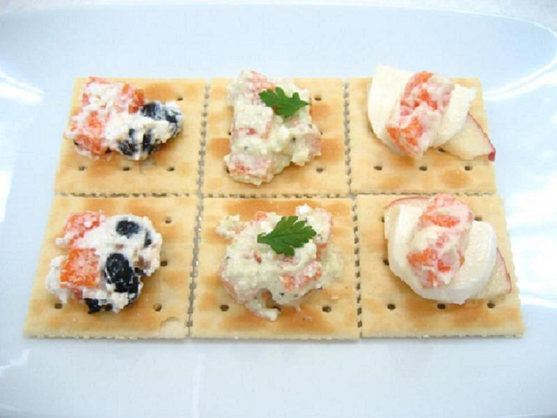 SHISHAMO MENTAI-FUMI Salad's triple hors d'oeuvre