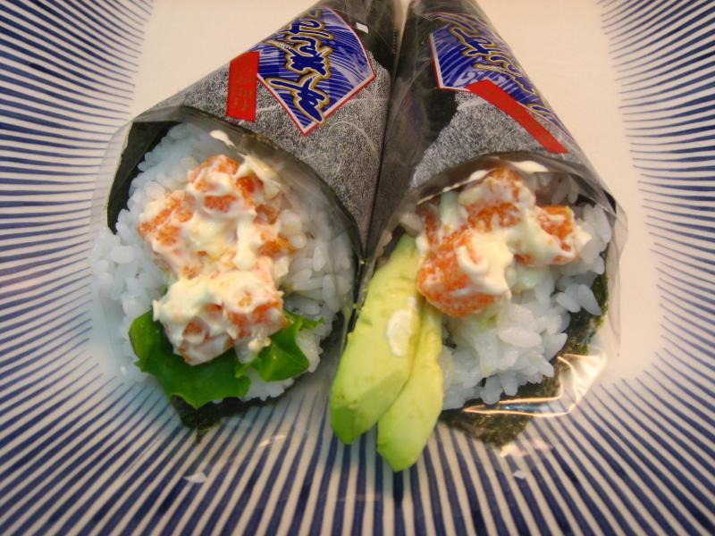 Hand-rolled Sushi (with SHISHAMO MENTAI-FUMI Salad)